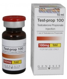 Test - Prop 100 (Testosterone Propionate) Genesis, 100 mg / ml, 10 ml
