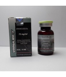 Venaject 75, (Stanozolol injectable) Thaiger Pharma, 750mg/10ml
