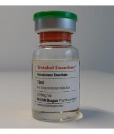 Testabol Enanthate (Testosterone Enanthate) British Dragon, 250 mg / ml, 10 ml