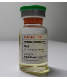 Boldabol 200, Boldenone Undecylenate, British Dragon, 200 mg/ml, 10ml