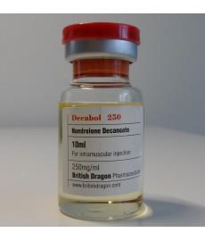 Decabol 250 (Nandrolone Decanoate) British Dragon, 250 mg / ml, 10 ml
