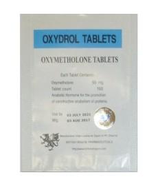 Oxydrol (Oxymetholone) British Dragon, 100 tabs / 50 mg