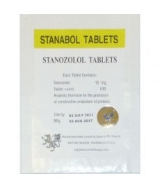 Stanabol (Stanozolol) British Dragon, 100 tabs / 10 mg