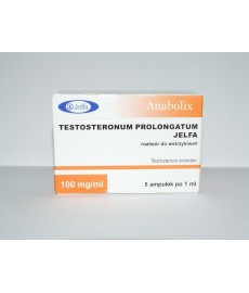 Testosteronum Prolongatum JELFA,100 mg/amp, 5 amp