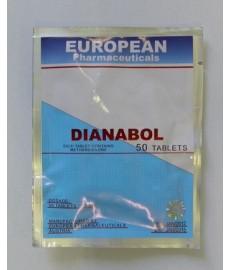 Dianabol, Methandienone, European Pharmaceutical