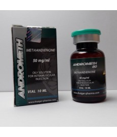 Andrometh 50 (Methandienone Injectable) Thaiger Pharma, 50 mg/ml, 10 ml