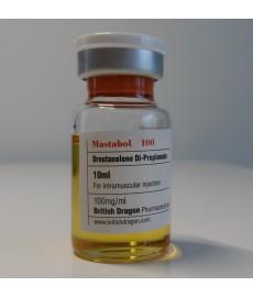 Mastabol 100, Drostanolone Propionate, British Dragon, 100 mg/ml, 10ml