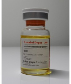 Trenabol Depot British Dragon (Trenbolone), 100 mg / ml, 10 ml