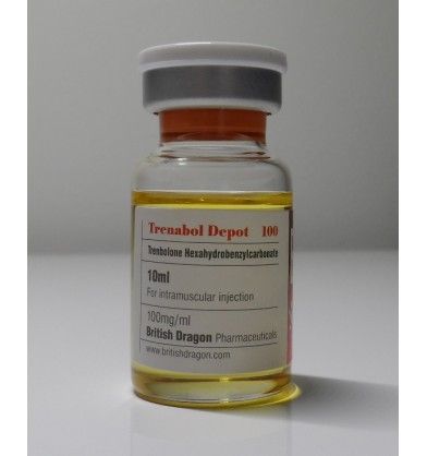 Trenabol Depot  (Trenbolone) British Dragon, 100 mg / ml, 10 ml
