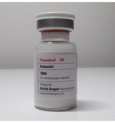 Stanabol 50 (Stanozolol) British Dragon, 50 mg / ml, 10 ml