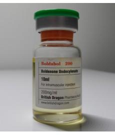 Boldabol 200, Boldenone Undecylenate, British Dragon, 200 mg/ml, 10ml