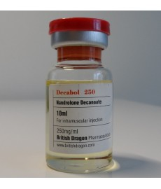 Decabol 250 (Nandrolone Decanoate) British Dragon, 250 mg / ml, 10 ml