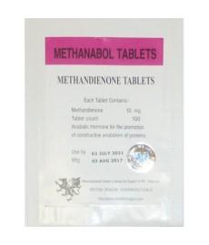 Methanabol (Methandienone) British Dragon, 100 tabs / 10 mg