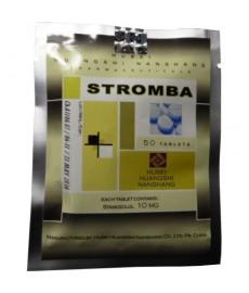 Stromba (Stanozolol) Hubei, 50 tabs / 10 mg