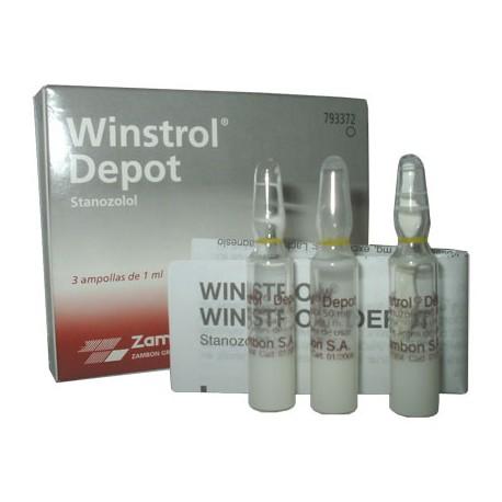 Winstrol Depot, 50 mg / amp, 1 amps.