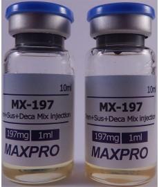 MX 197, Nandrolone, Trenbolone, Testosterone blend, Max Pro, 197 mg/ml 10 ml